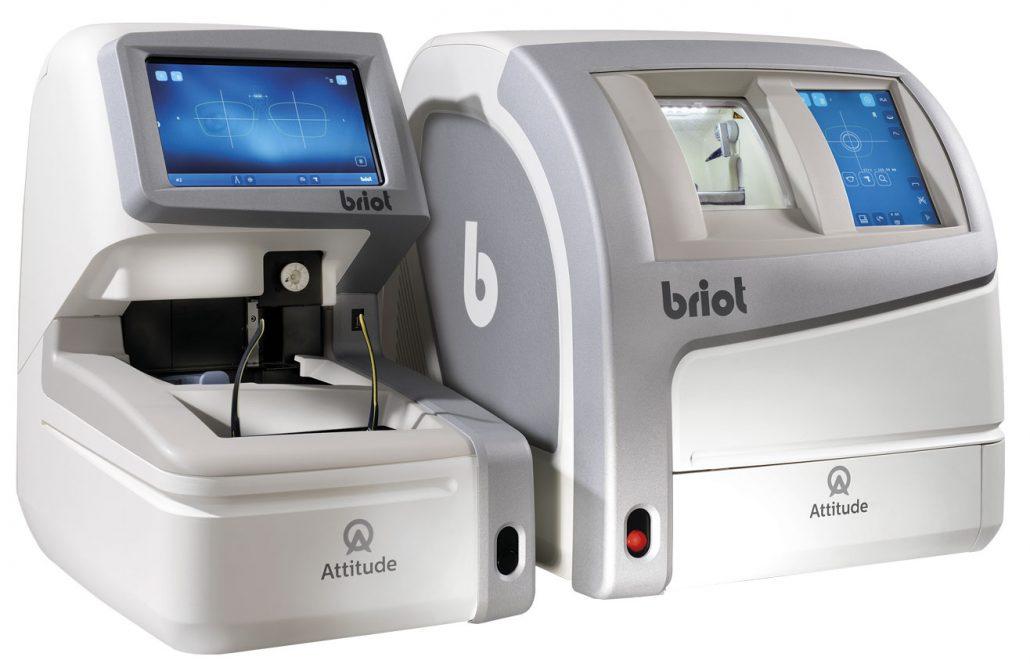 BRIOT ATTITUDE II (rechts) kombiniert mit BRIOT ATTUTUDE XLwave