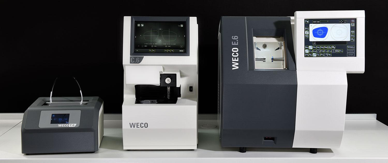 Schneck Optik Ausstellung Optikermaschinen T.6 | C.6 | E.6
